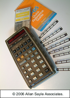 HP 65 Calculator